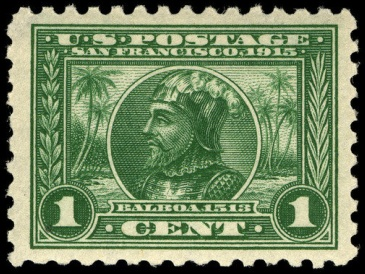 1-cent_Panama-Pacific_Expo_1913_U.S._stamp.1
